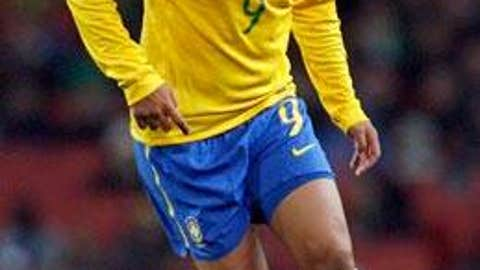 BRAZIL: Adriano -- OUT