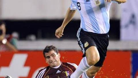 ARGENTINA: Javier Zanetti -- OUT