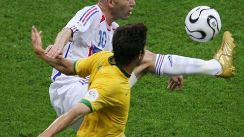 Zidane tortures Brazil