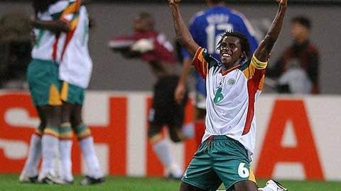 Senegal over France, 2002