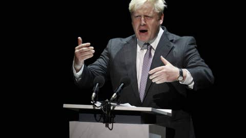 THE BET: Will London Mayor Boris Johnson accidentally set his hair on fire with the Olympic torch?