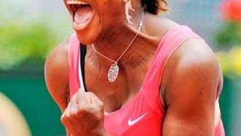 Don't bet against ... Serena Williams