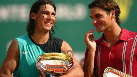 2007: Monte Carlo final (Nadal wins 6-4, 6-4)