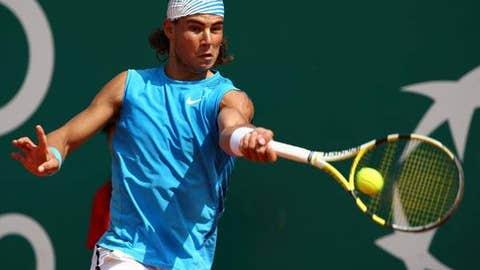 2008: Monte Carlo final (Nadal wins 7-5, 7-5)