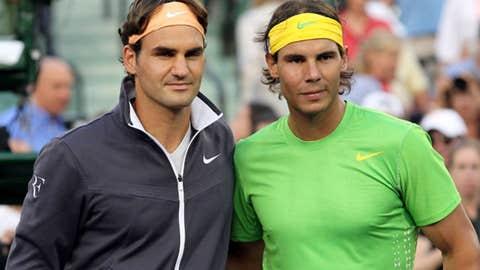 2011: Miami semifinal (Nadal wins 6-3, 6-2)