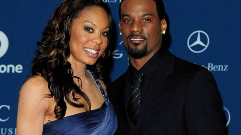 Sanya Richards and Aaron Ross