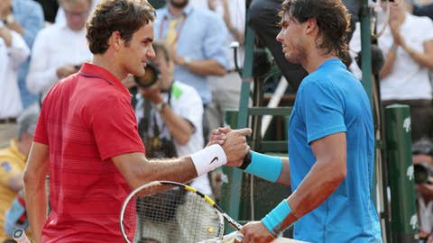 2011: French Open final (Nadal wins 7-5, 7-6 (3), 5-7, 6-1)
