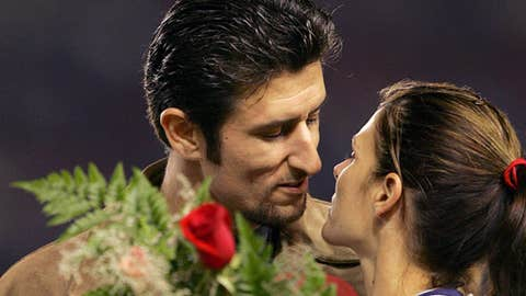 Nomar Garciaparra and Mia Hamm