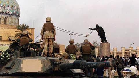 Fall of Saddam
