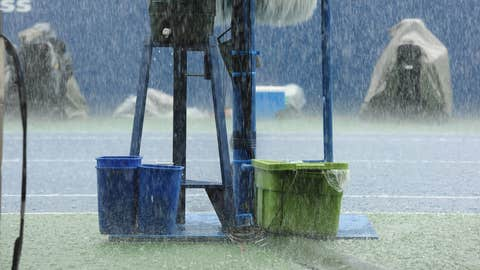 Raining buckets