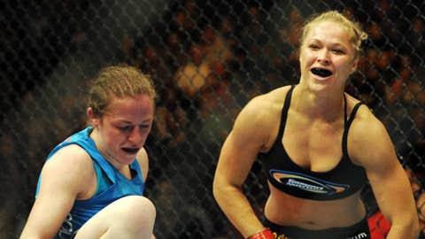 Ronda Rousey (Mandatory Credit: Jayne Kamin-Oncea-US PRESSWIRE)
