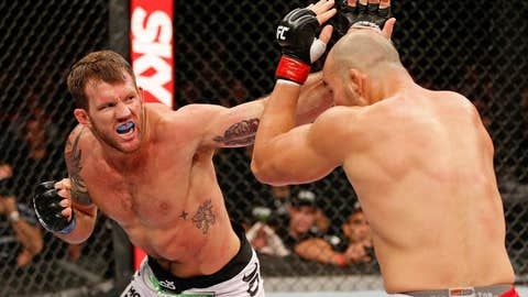 Bader wobbled Teixeira early in Round 1