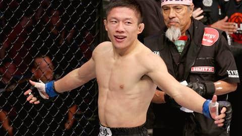 A victorious Horiguchi