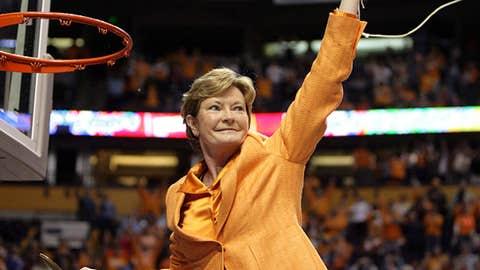 Tennessee Volunteers head coach Pat Summitt