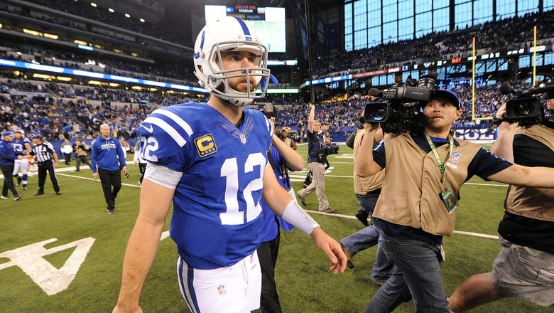 Colts coach Chuck Pagano is 'praying' Andrew Luck will be ready for training camp