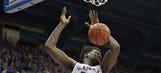 Kansas beats UNC Asheville in 95-57 dunk fest