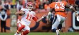 Chiefs focused on taking down Broncos in heat of playoff chase
