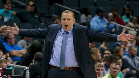 Minnesota Timberwolves: A year's supply of throat lozenges for Tom Thibodeau