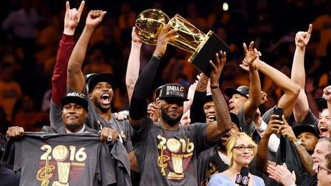 Warriors at Cavaliers, 2:30 p.m. ET