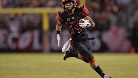 Donnel Pumphrey, RB, San Diego State (Las Vegas Bowl)