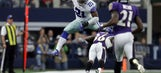 Without Zimmer, Vikings set to tackle Elliott, Cowboys