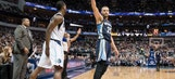 Grizzlies wing Chandler Parsons out with bone bruise in left knee