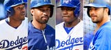 Four outfielders will benefit players, Dodgers in long run