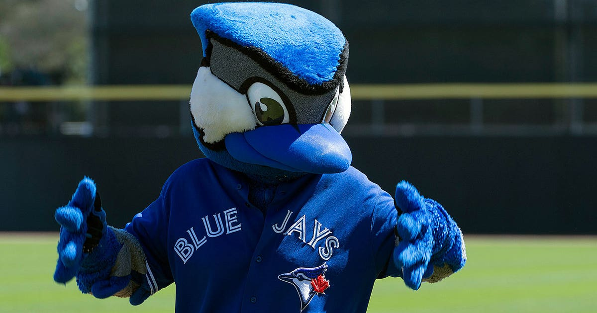 Watch Blue Jays Mascot Plays Beach Volleyball Fox Sports