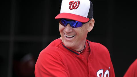 High: Williams named NL Manager of the Year (Nov. 11, 2014)