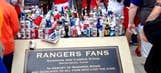 Rangers fans trash tribute to fan who fell to death in 2011