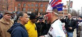Awkward: Native American comes face to face with Indian caricature