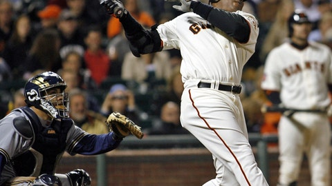 1. Barry Bonds — 762 HRs