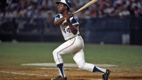 2. Hank Aaron — 755 HRs