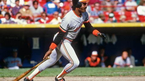 27. Eddie Murray — 504 HRs