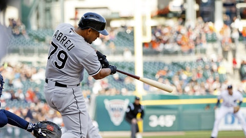 April AL Rookie of the Month: Jose Abreu, White Sox