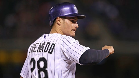 13. Nolan Arenado, 3B, Colorado Rockies (.293, 24 HR, 70 RBI)