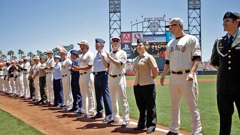 AT&T Park, San Francisco: Cubs at Giants
