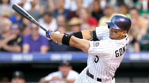 Colorado Rockies: OF Carlos Gonzalez