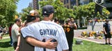 Baseball world honors Gwynn, rallies around Padres (VIDEO)