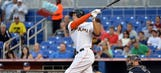 Stanton's line-drive home run to opposite field one of a kind