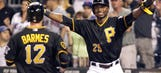 Harrison's walk-off double lifts Pirates over Mets 11 innings