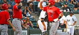 Angels hold off White Sox to complete DH sweep