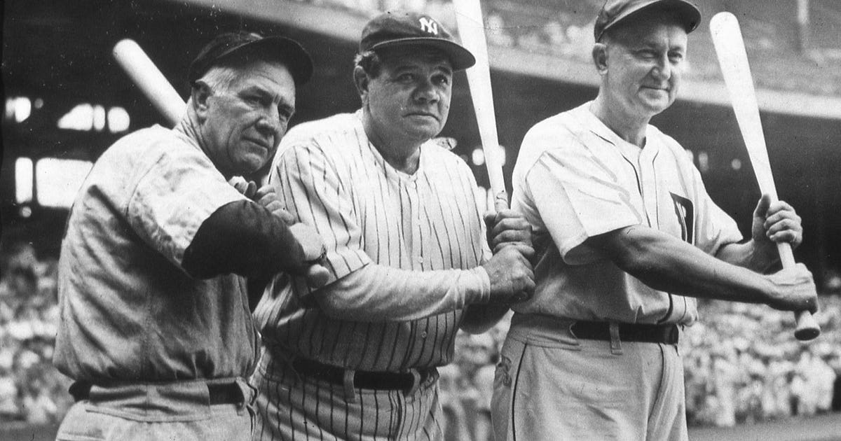 25 Classic Ruth Photos On 100th Anniversary Of His Mlb