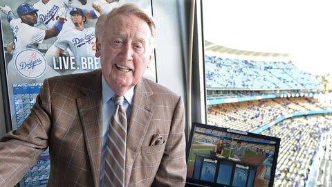 Vin Scully - Broadcaster, Los Angeles Dodgers