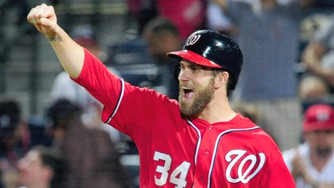 Bryce Harper (debuted April 28, 2012)