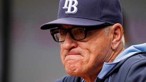 6. Joe Maddon opts out of contract with Rays