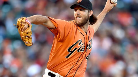 August NL Pitcher of the Month: Madison Bumgarner, Giants
