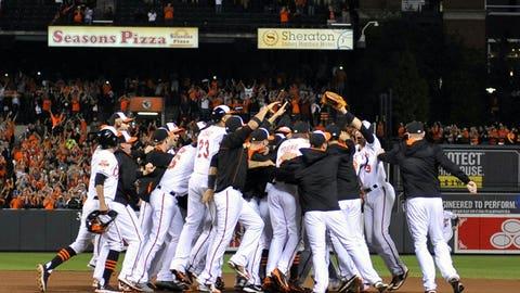 AL East champions: Baltimore Orioles