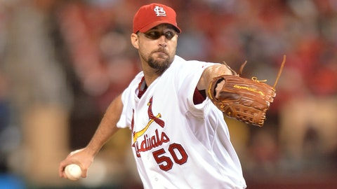 September NL Pitcher of the Month: Adam Wainwright, Cardinals