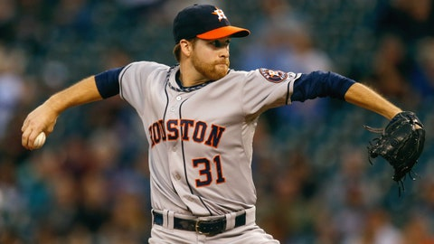 September AL Rookie of the Month: Collin McHugh, Astros